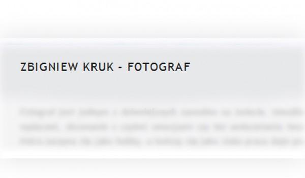 Zbigniew Kruk – Dual X